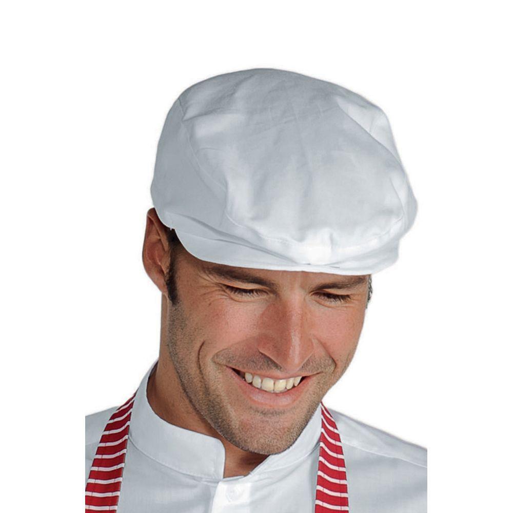 Beret de cuisine Blanc Isacco Coppola - Blanc