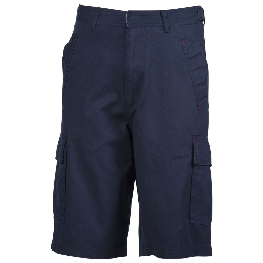 Bermuda Penduick Watson 100% coton - Bermuda poches plaquées en coton léger Penduick Watson marine