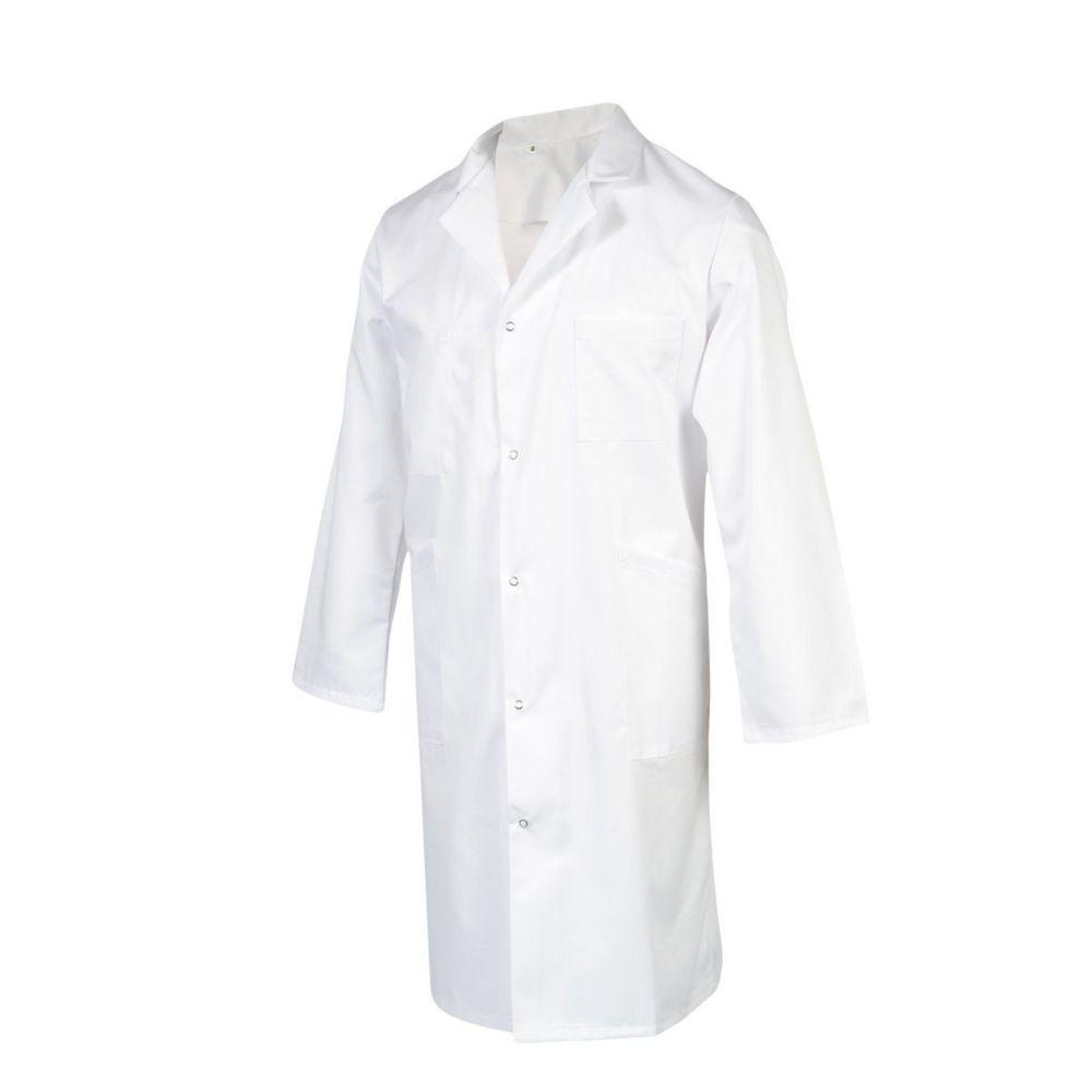 Blouse blanche Pharmacie / Laboratoire manches longues Robur ORION - Blanc
