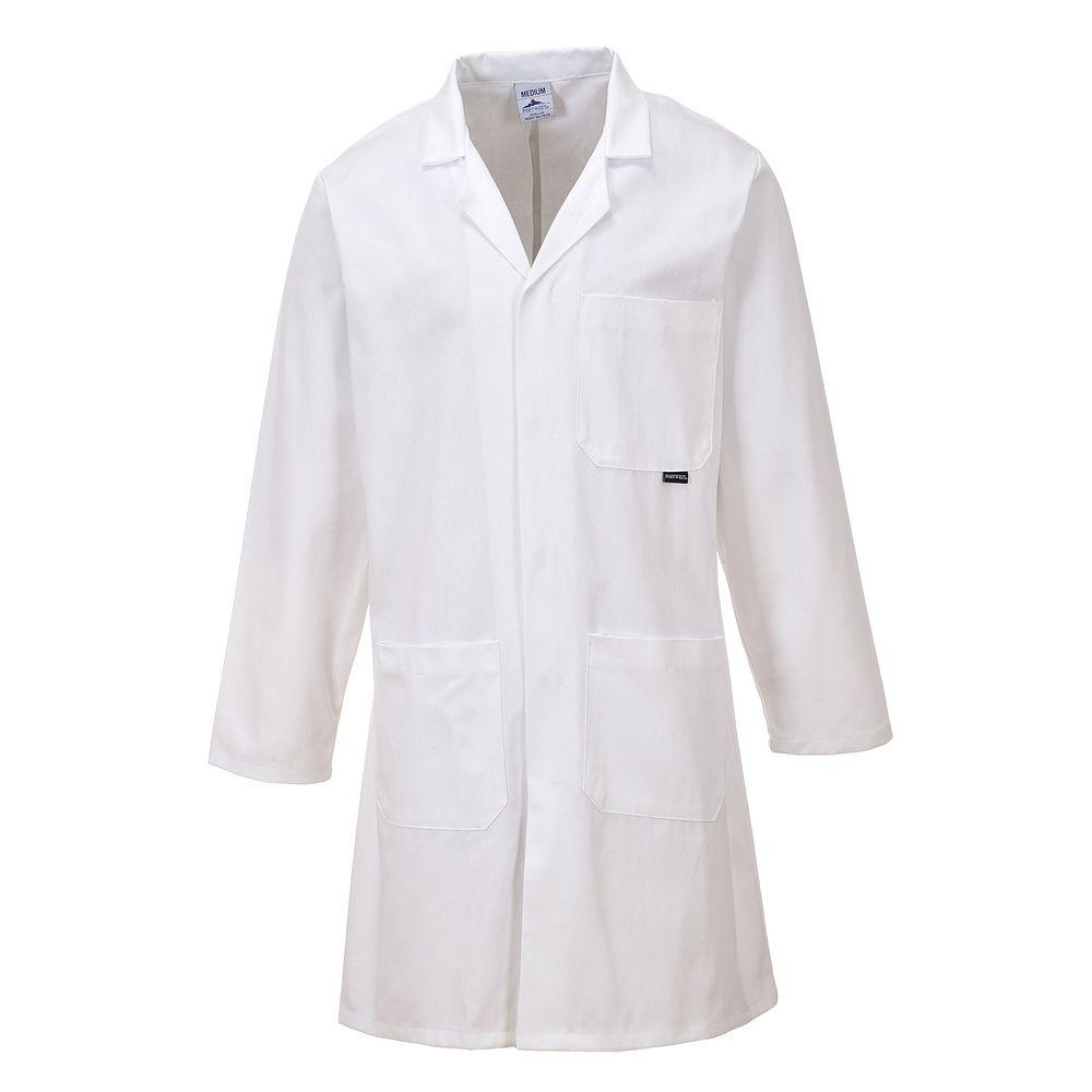 Blouse de laboratoire Portwest Standard 100% Coton - Blanc