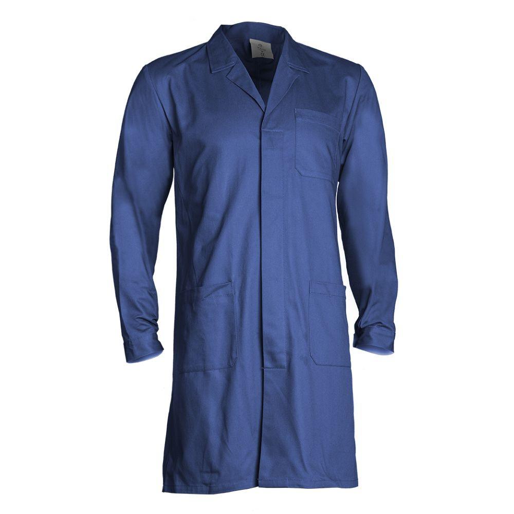 Blouse de travail 100% coton Coverguard Partner - Bleu royal