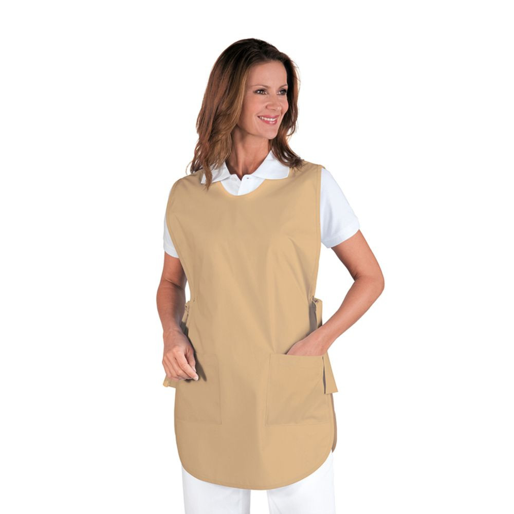 Chasuble service femme Isacco Poncho Biscuit - Beige
