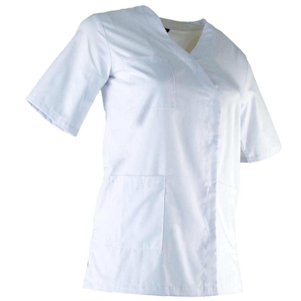 Tunique médicale femme LMA CLINIQUE - Blanc