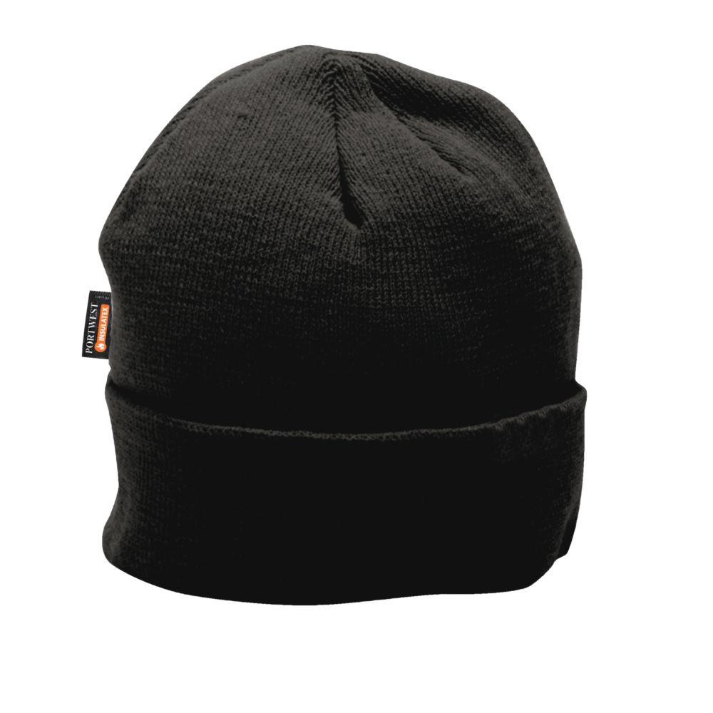 Bonnet microfibre insulatex Portwest - Noir