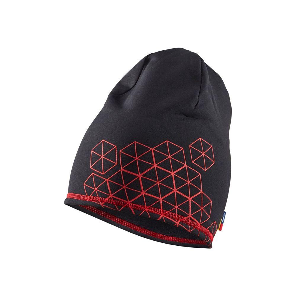 Bonnet polaire Blaklader Hexagon Edition Limitée - Noir / Rouge