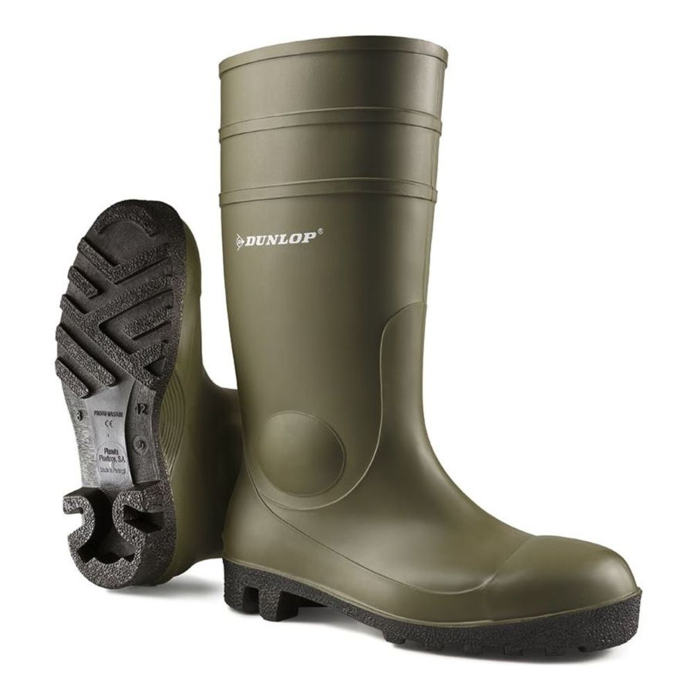 Botte de sécurité Dunlop Protomaster Full Safety S5 SRA - Vert
