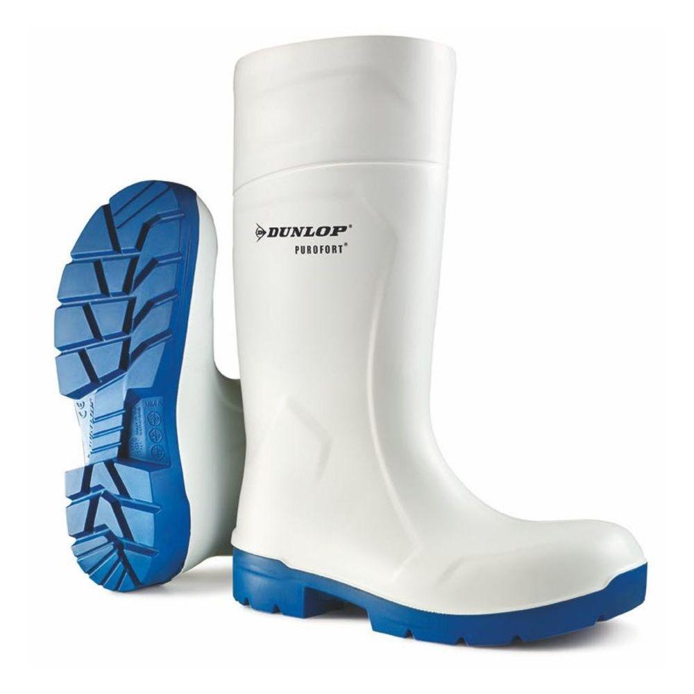 Bottes de sécurité Dunlop Purofort M-GRIP Safety S4 CI SRC - Blanc