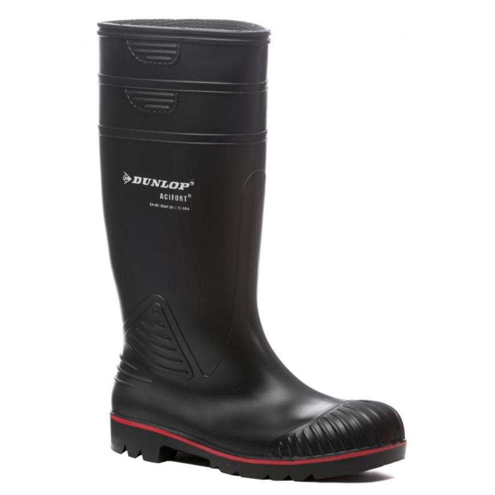 Botte de sécurité Dunlop ACIFORT S5 SRA - Noir