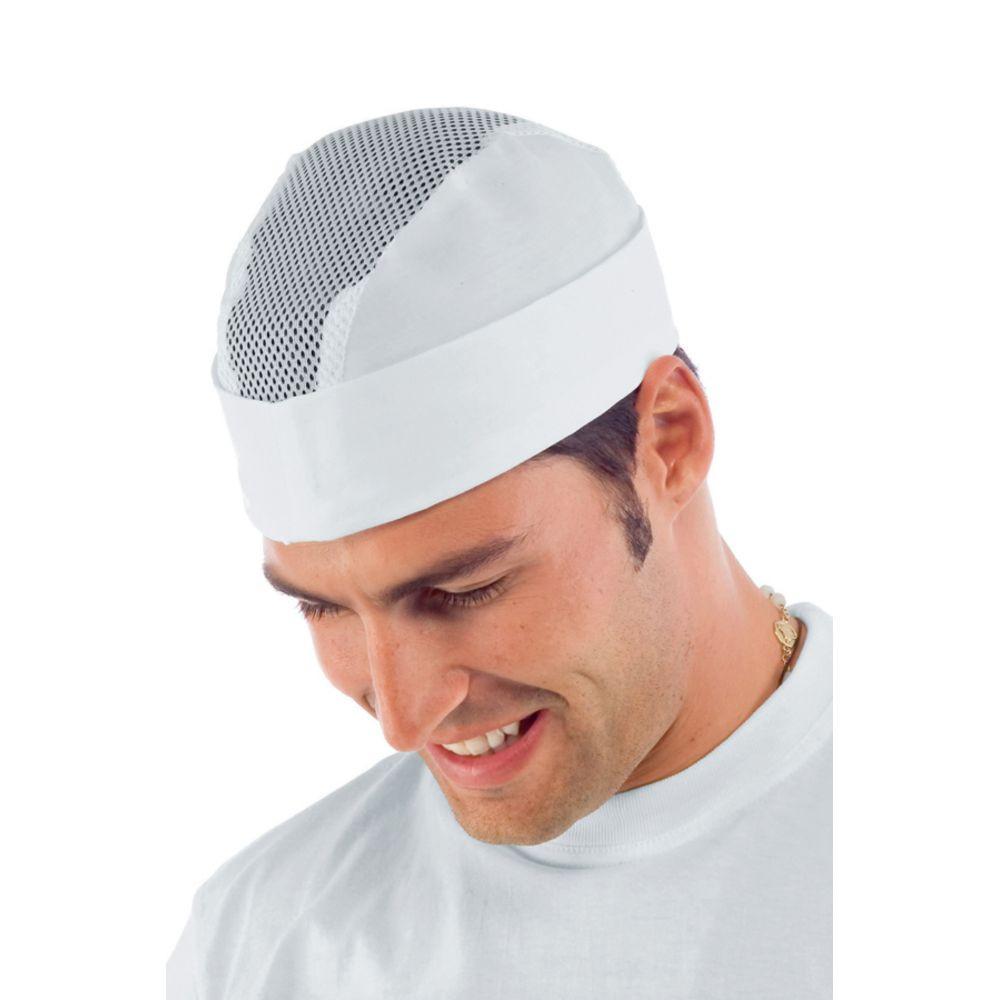 Calot De Cuisine Isacco Blanc Aere