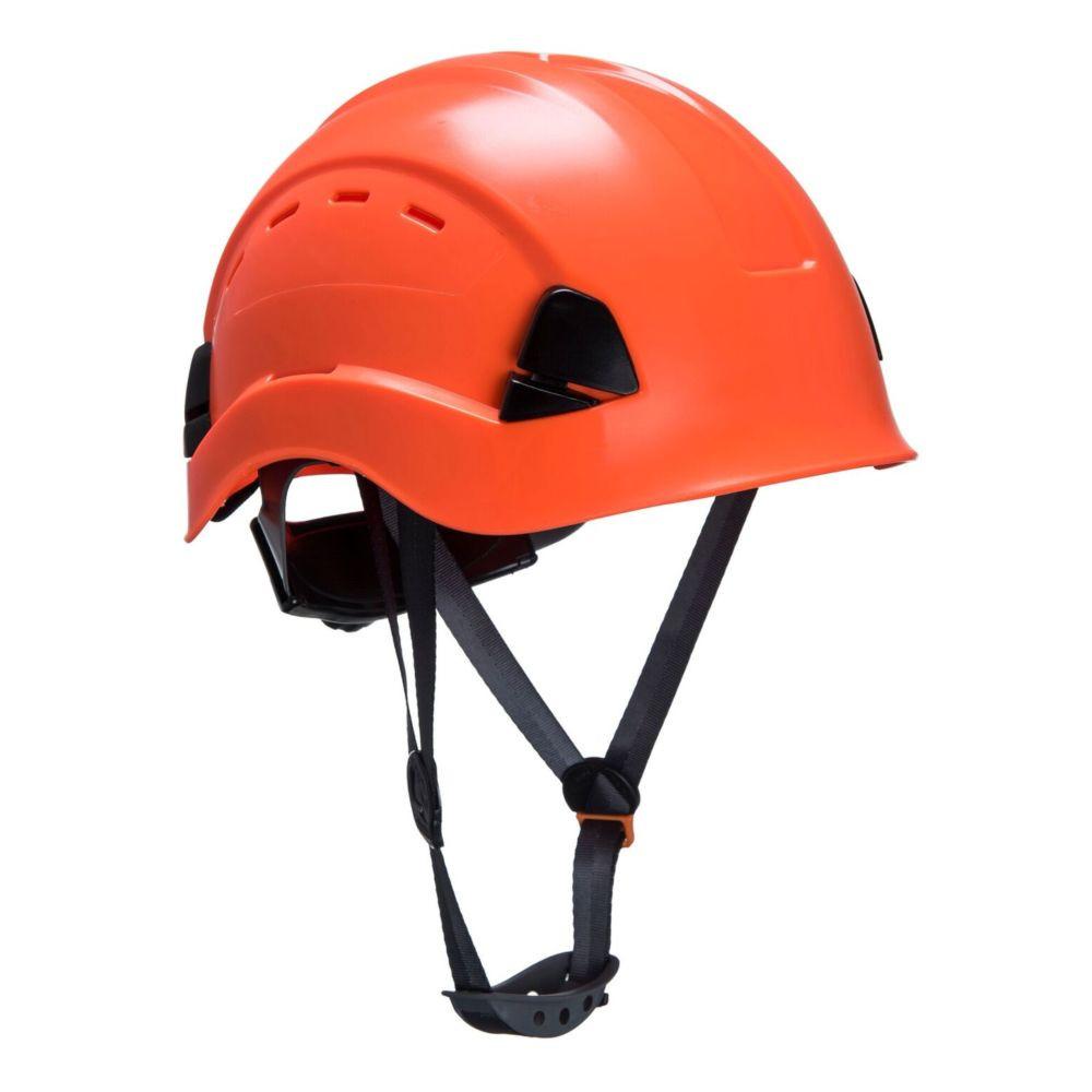 Casque de chantier ventilé Portwest HEIGHT ENDURANCE - Orange