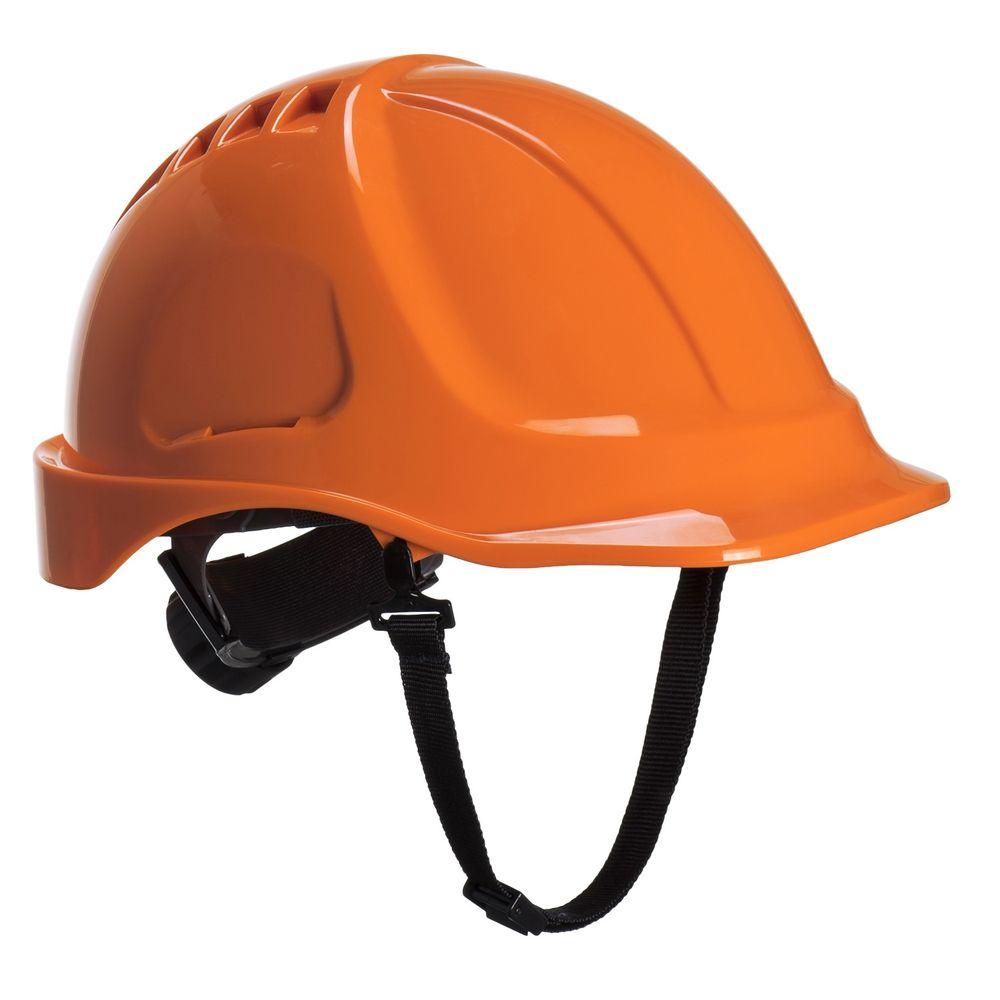 Casque de chantier Portwest Endurance Plus sans visière - Orange