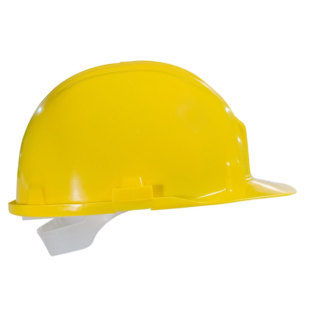 Casque de chantier sur lieu de travail Portwest - Jaune