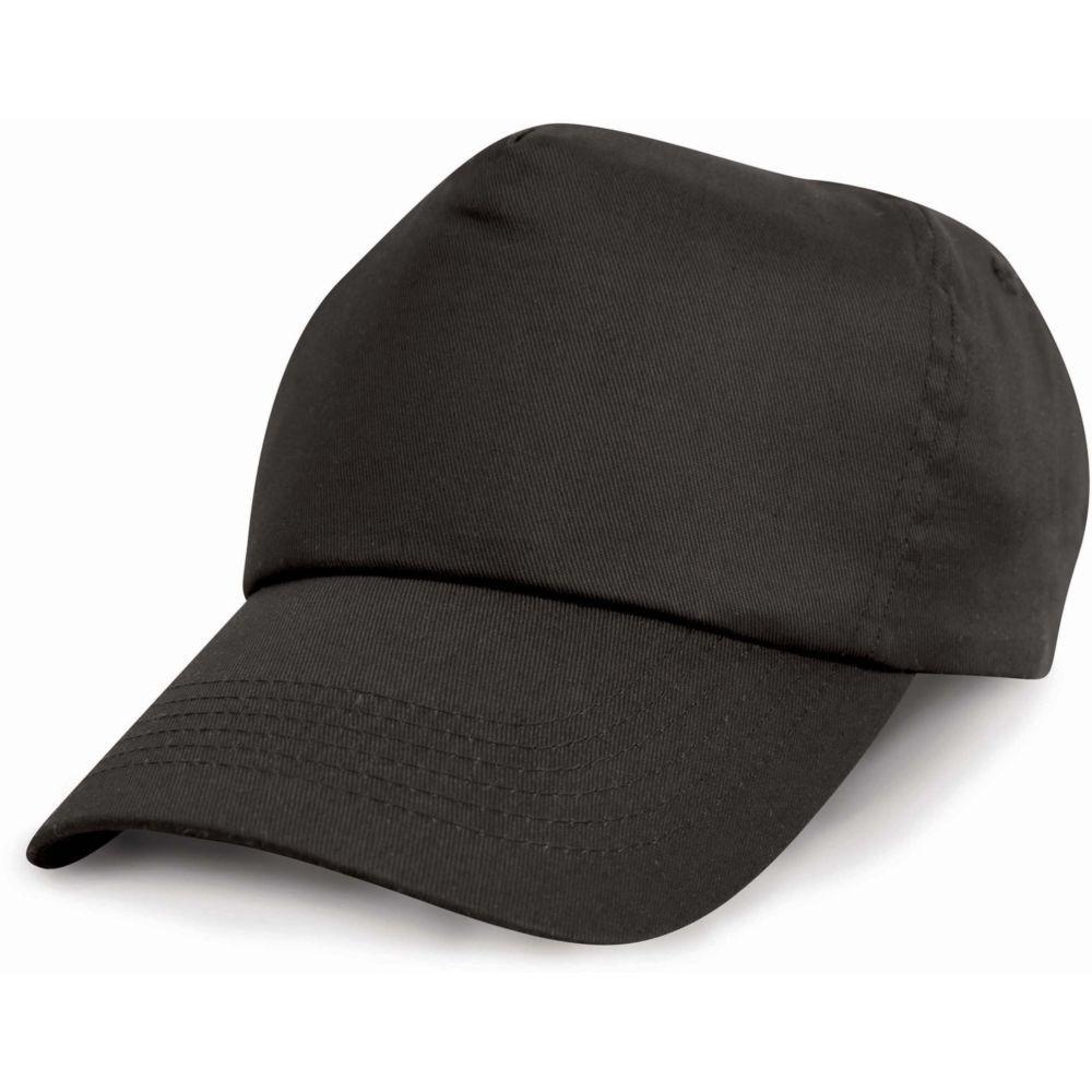 Casquette 100% coton Result - Noir