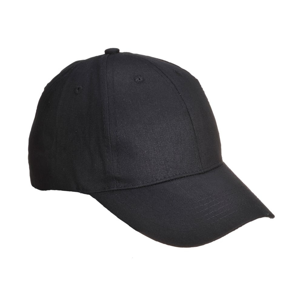 Casquette type baseball Portwest - Noir