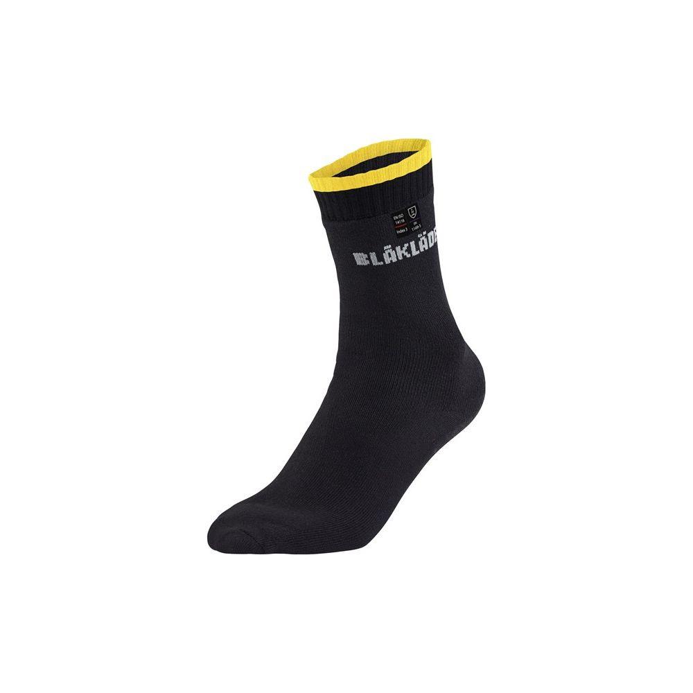 Chaussettes Blaklader ignifugées et anti-statiques Safe Light - Noir / Jaune
