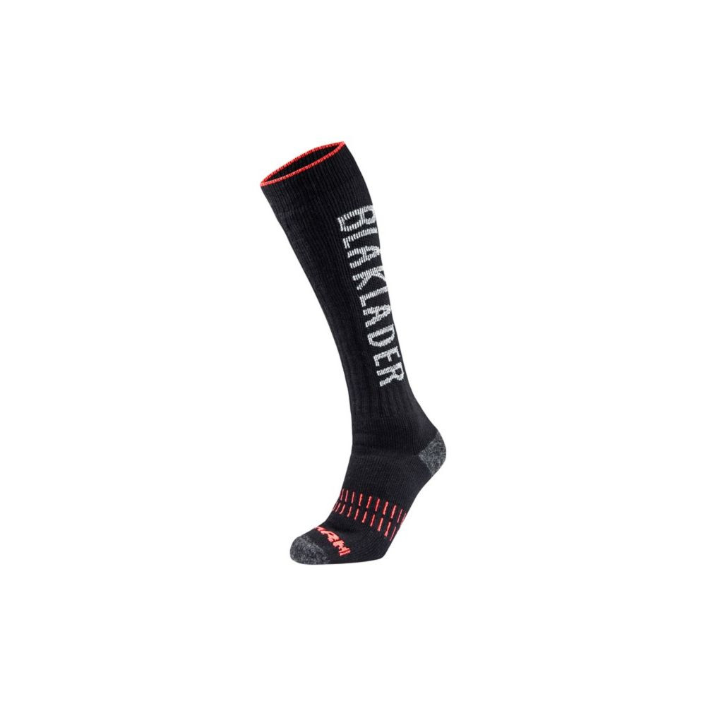 Chaussettes hautes froids extrêmes Blaklader Xwarm - Noir / Rouge
