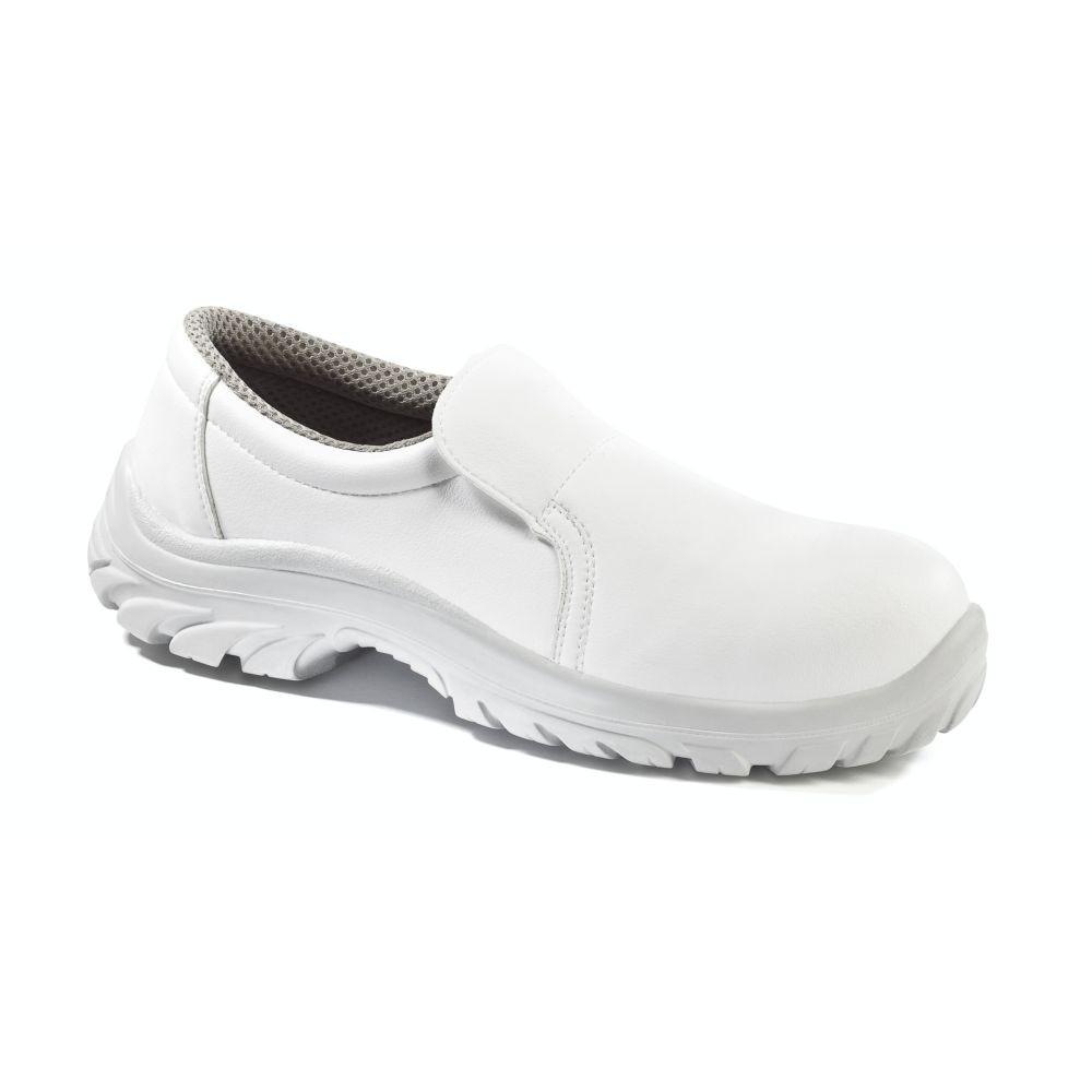Chaussure de cuisine basse Lemaitre Sanix S2 SRC - Blanc