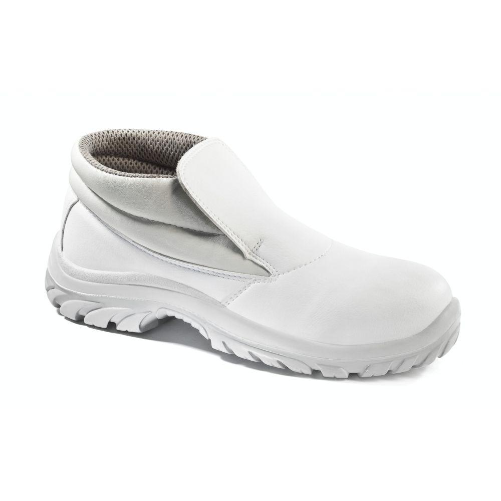 Chaussures de cuisine hautes Lemaitre Sanix S2 SRC - Blanc