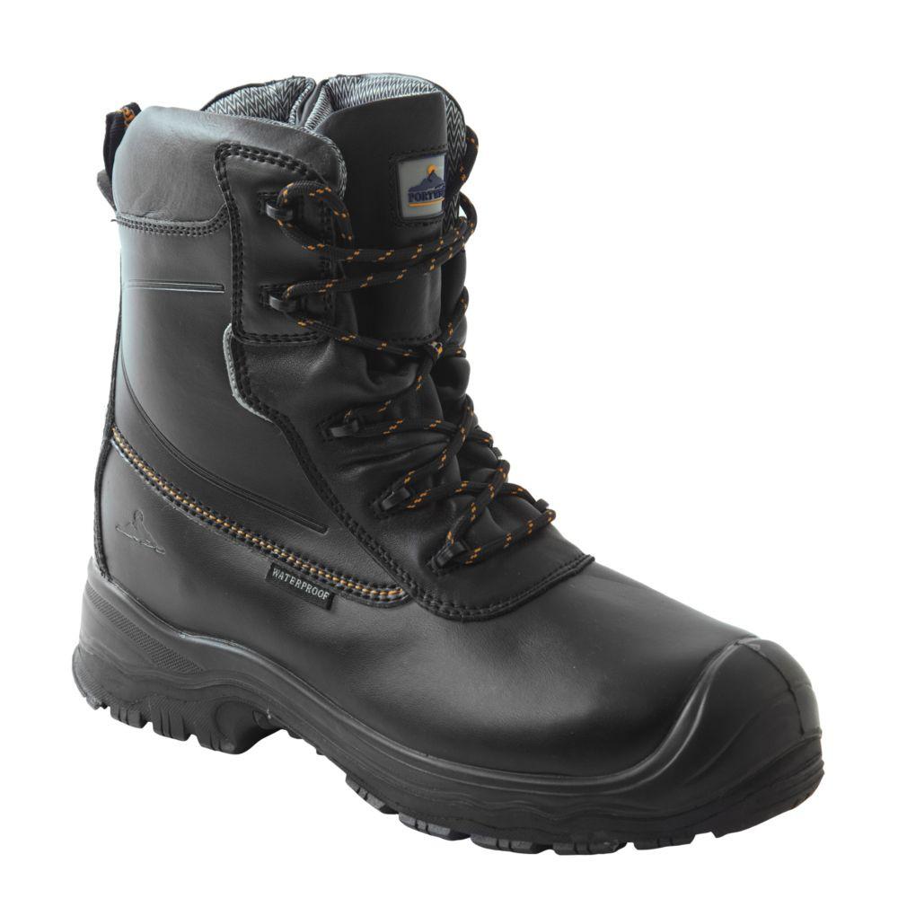 Chaussure de sécurité 100% non métallique Portwest S3 HRO CI - Noir