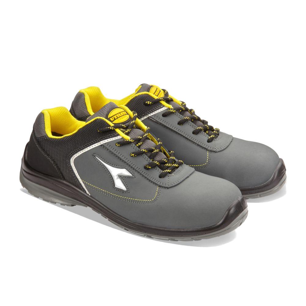 Chaussures de sécurité basses Diadora D-Blitz S3 SRC 100% non métalliques - Gris