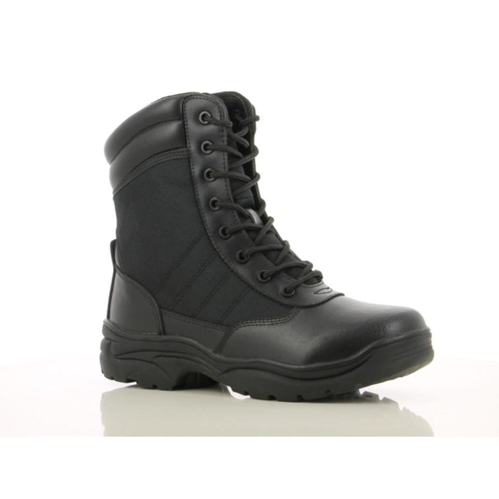 Chaussures non sécurité montantes Safety TACTIC SRA - Noir
