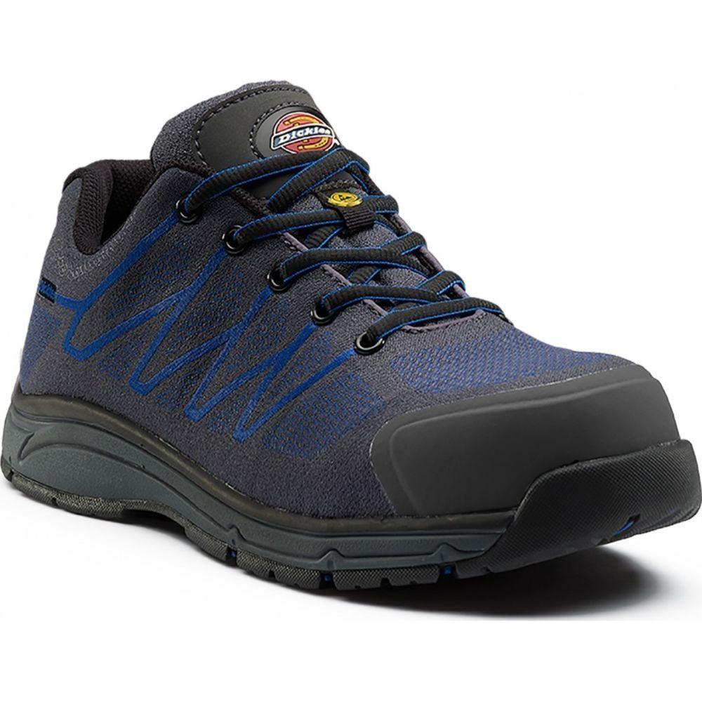 Chaussure de sécurité basse Dickies Liberty S1P SRC ESD 100% non métalliques - Gris Marine