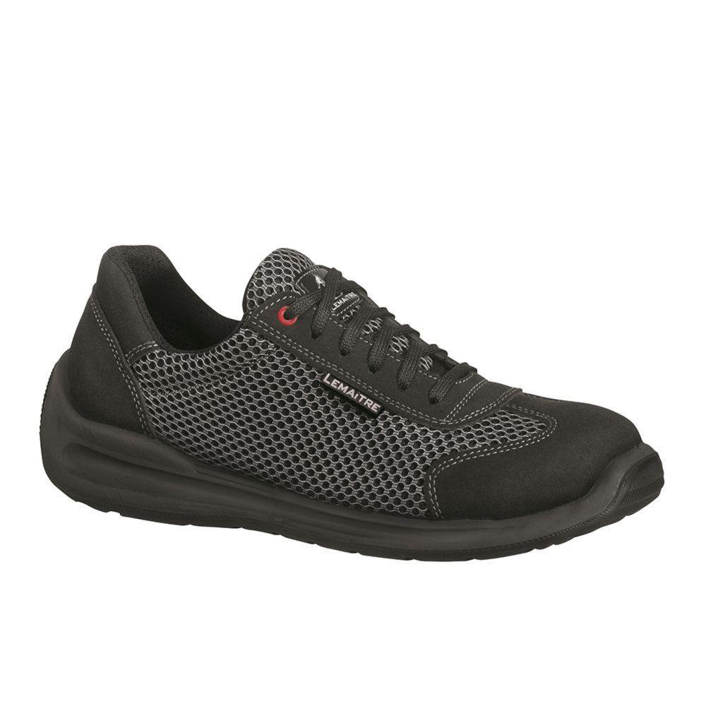 Chaussure de sécurité basse Lemaitre S1P Oxygen SRC - Noir / Gris
