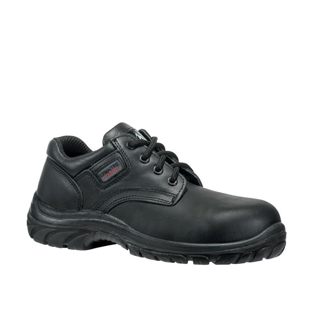 Chaussure de sécurité basse Lemaitre S3 Aron SRC - Noir