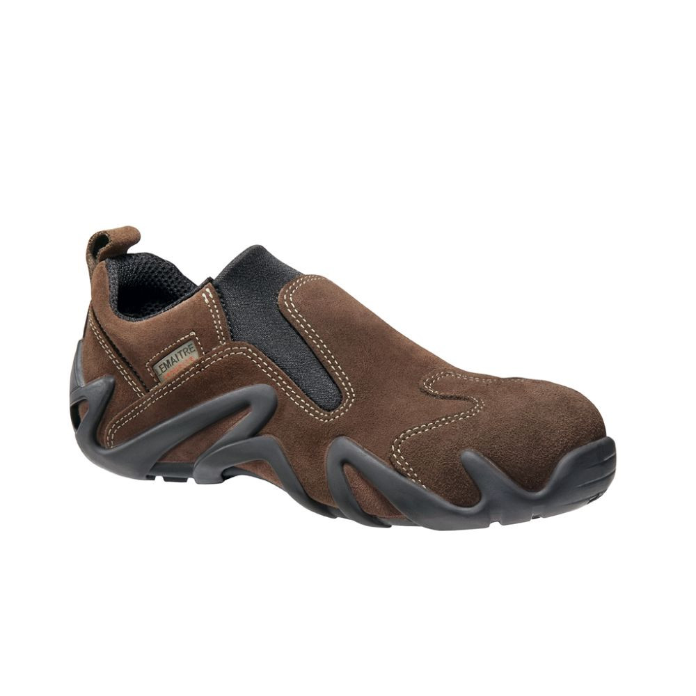 Chaussure de sécurité basse Lemaitre Slipper S2 SRC - Marron