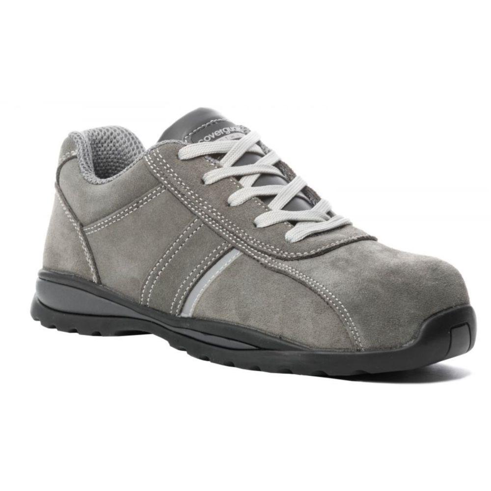 Chaussure de sécurité basse sans métal Coverguard ANKERITE II S1P SRC HRO - Gris