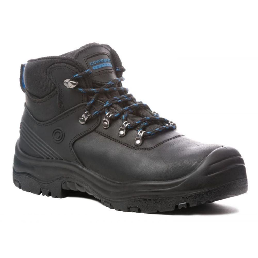Chaussure de sécurité imperméable Coverguard AQUAMARINE montante S3 WR SRC - Noir