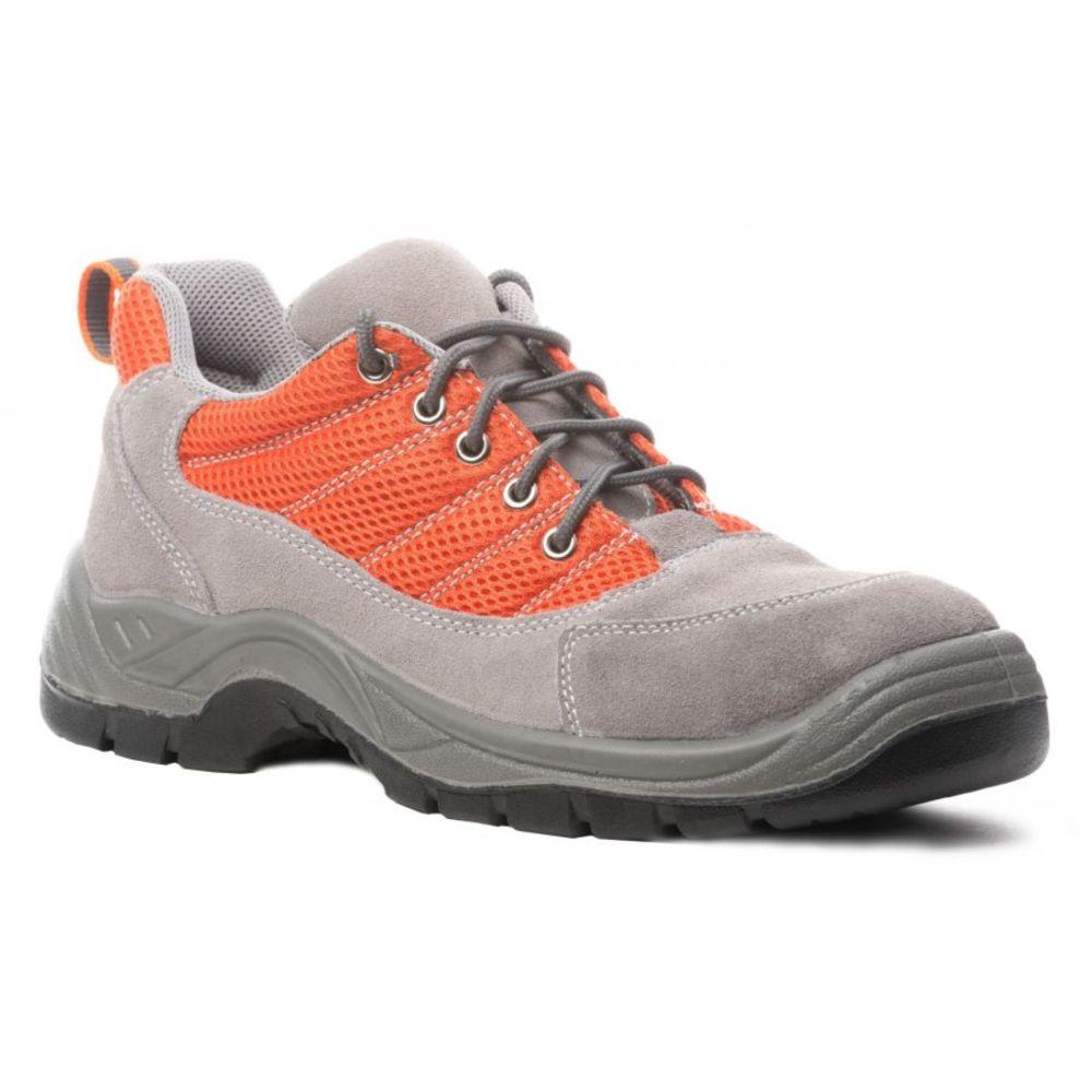 Chaussure de sécurité basse Coverguard Spinelle S1P SRC - Gris / Orange