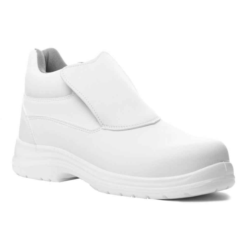 Chaussure de sécurité cuisine montante microfibre Coverguard Okenite S2 SRC - Blanc
