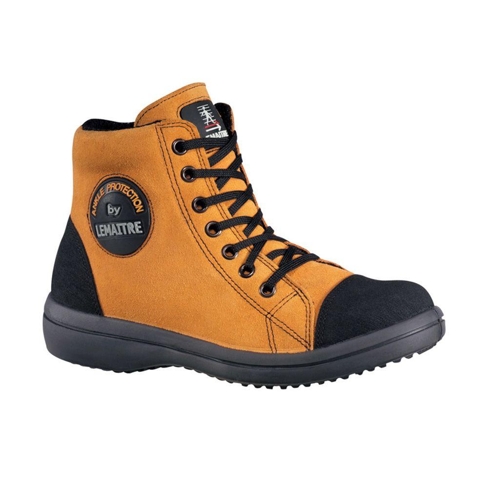 Chaussure de sécurité haute femme Lemaitre VITAMINE S2 SRC Orange - Orange
