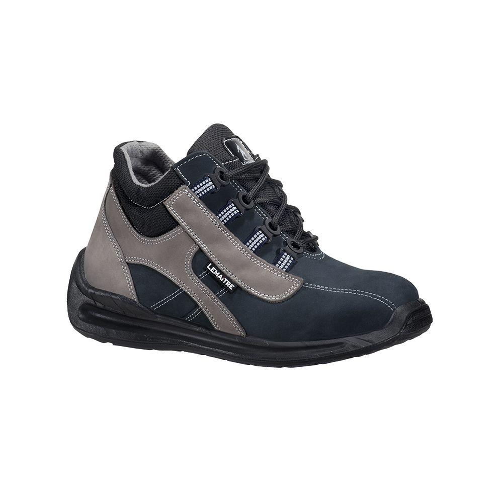 Chaussure de sécurité haute Lemaitre TREKKER S2 SRC - Bleu Foncé