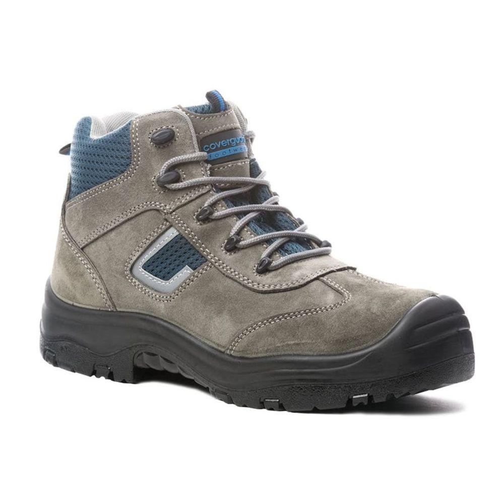Chaussure de sécurité montante Coverguard COBALT II S1P SRC 100% sans métal - Gris
