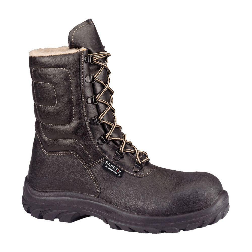 Chaussure de sécurité montante Lemaitre Snowfox S3 SRC - Noir