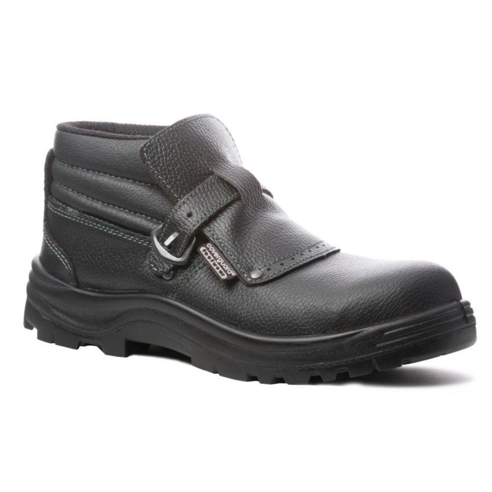 Chaussure de sécurité montante soudeur Coverguard Quartz S3 SRA - Noir