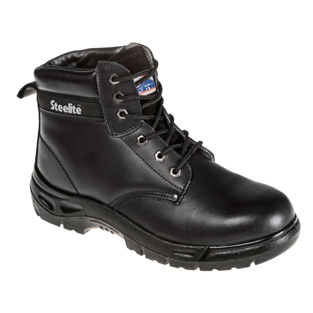 Chaussure de sécurité montantes Portwest S3 brodequin Steelite - Noir