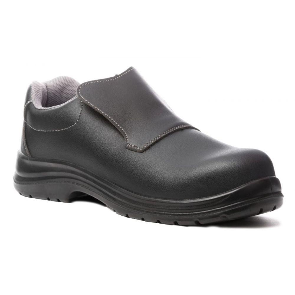 Chaussure de sécurité cuisine 100% sans métal Coverguard Ortite S2 SRC - Noir