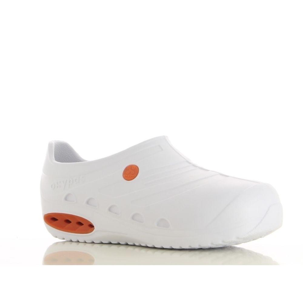Chaussure de travail coquée Oxypas Oxysafe ESD SRC - Blanc