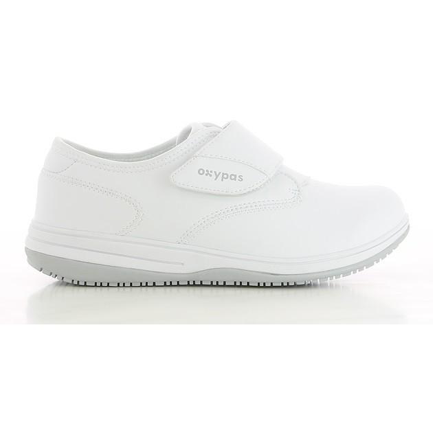 9a98d1ecaabb Chaussure de travail Oxypas Emily blanc