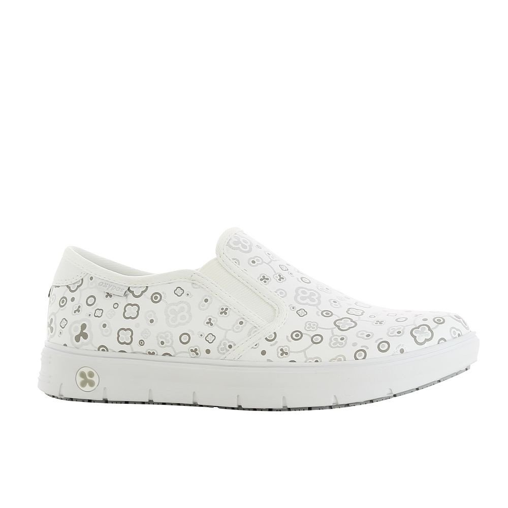 Chaussure de travail Oxypas Nadine ESD SRC - motif oxypas gris