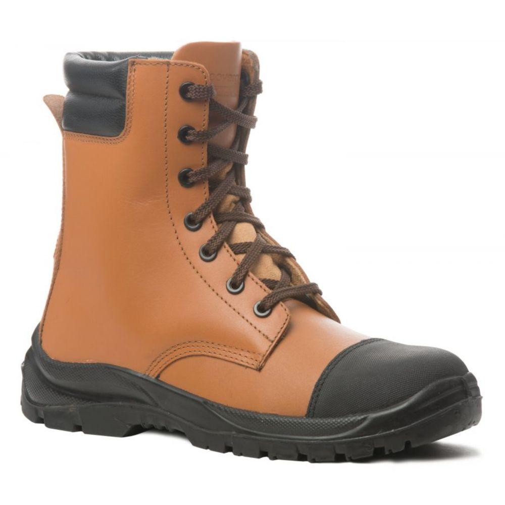 Chaussures de sécurité montantes Coverguard Magnetite S3 SRC 100% sans métal Brun