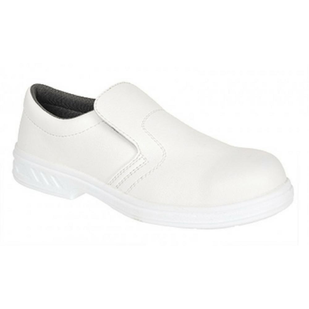 Chaussures de cuisine Portwest Mocassin S2 - blanc