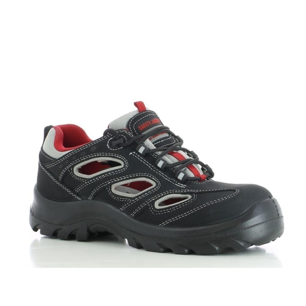 Chaussures de sécurité 100% non métalliques Safety Jogger ALSUS S1P ESD SRC - Noir