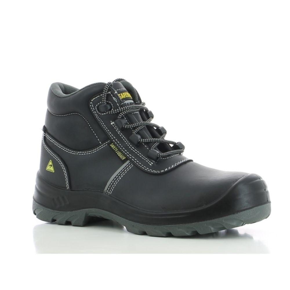 Chaussures de sécurité 100% non métalliques Safety Jogger Eos ESD S3 SRC - Noir