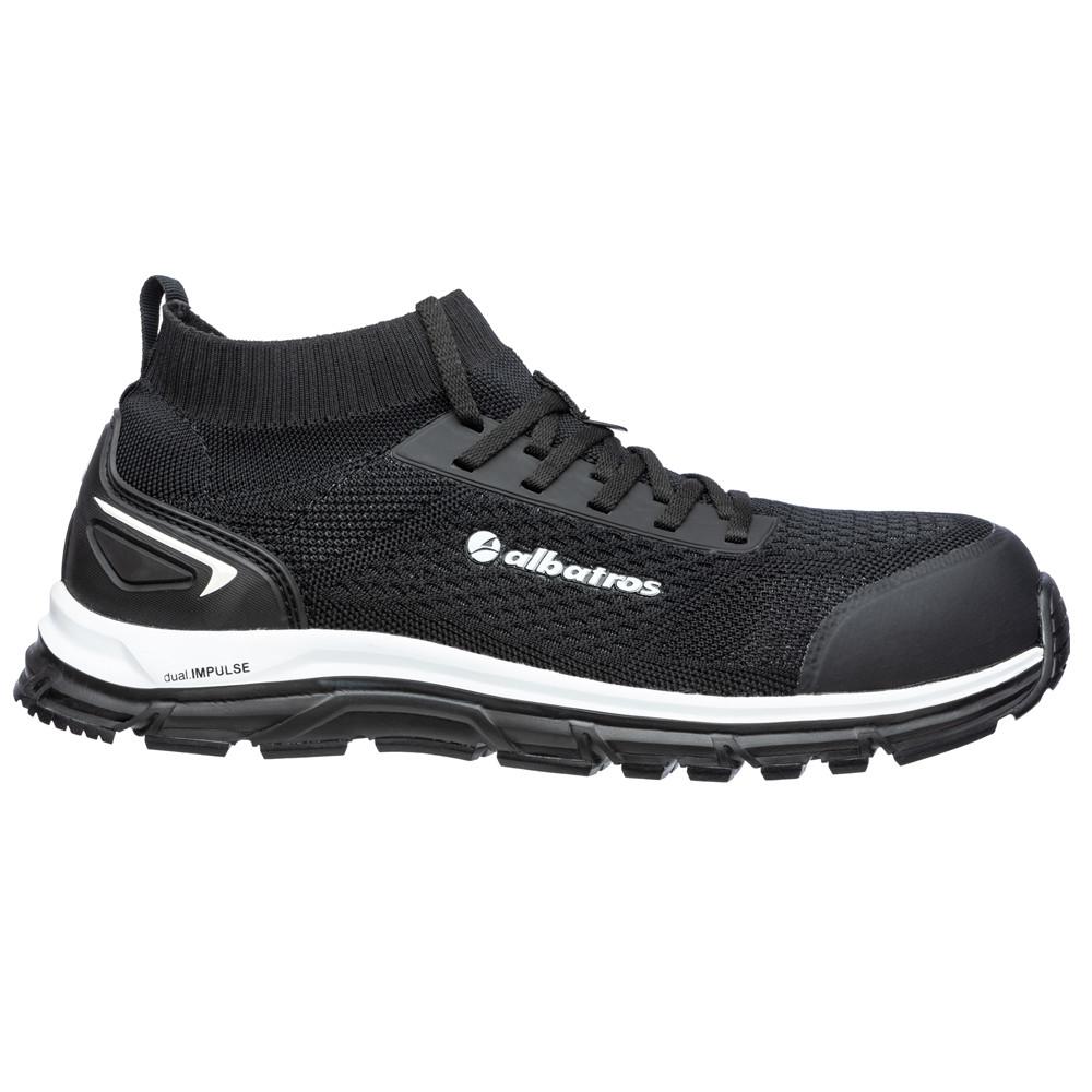 Chaussures de sécurité Albatros ULTIMATE IMPULSE BLACK LOW S1P ESD HRO SRA - Noir