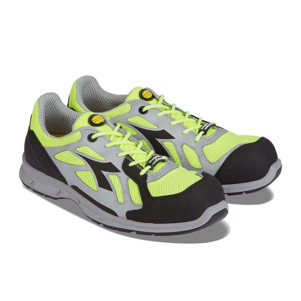 Chaussures de sécurité basses Diadora D-FLEX LOW BRIGHT S1P SRC 100% sans métal - Jaune