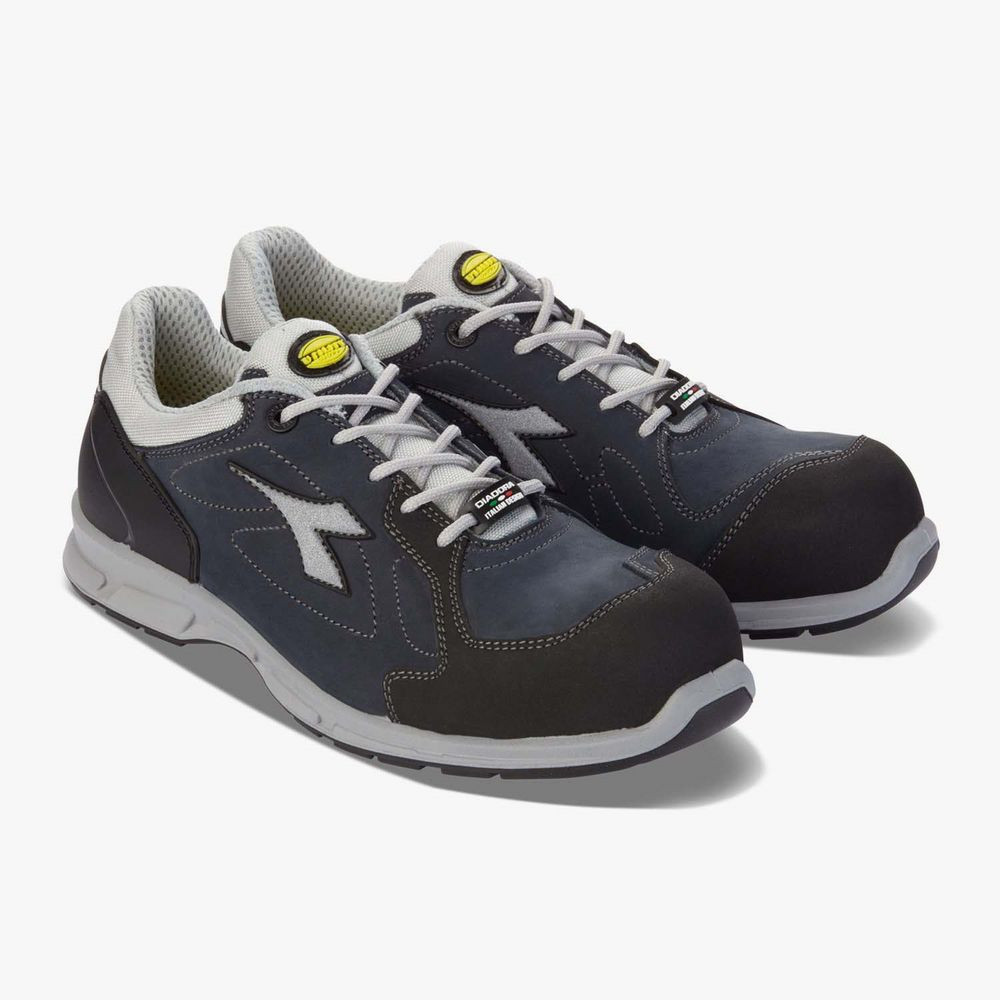 Chaussures de sécurité basses Diadora D-FLEX LOW S3 SRC 100% sans métal - Denim